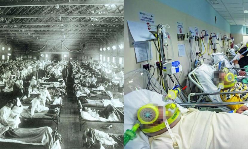"""""""Influenza spagnola"""": le similitudini con la pandemia da Covid-19"""