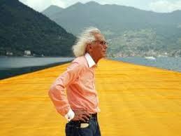 Muore l'artista che fece diventare un'opera d'arte il Lago d'Iseo: Christo