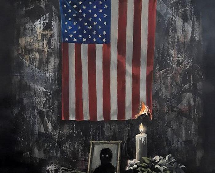 """L'arte di Banksy contro il razzismo: l'opera contro il """"sistema bianco"""""""