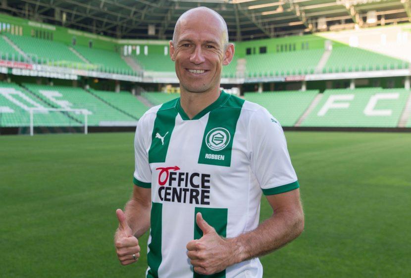 Robben torna a casa e fa sognare il Groningen