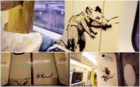 Bansky: l'Arte di portare la mascherina tra le strade di Londra
