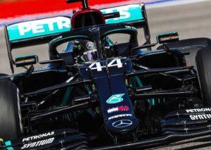 F1, qualifiche del GP di Russia: Hamilton davanti, Vettel a muro in Q2