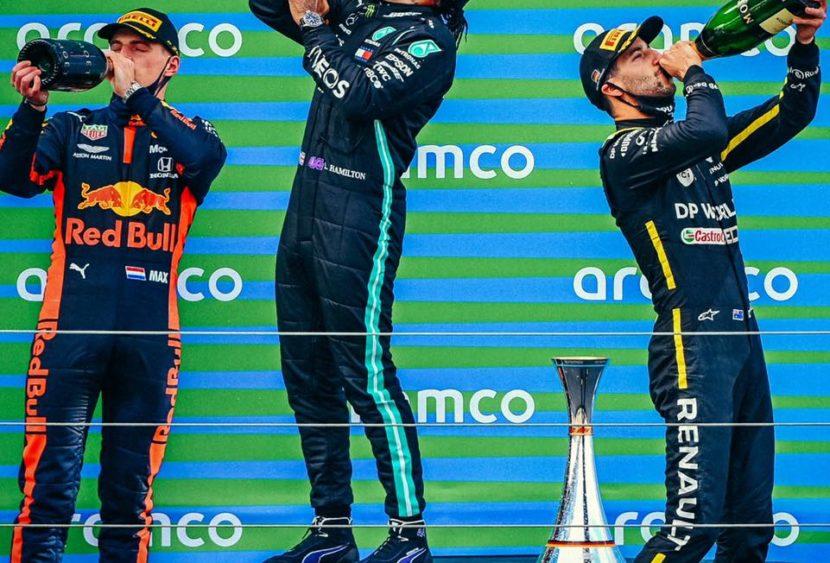 F1, le pagelle del GP dell'Eifel: Lewis come Schumi: 91 e lode. Bene Giovinazzi e Ricciardo