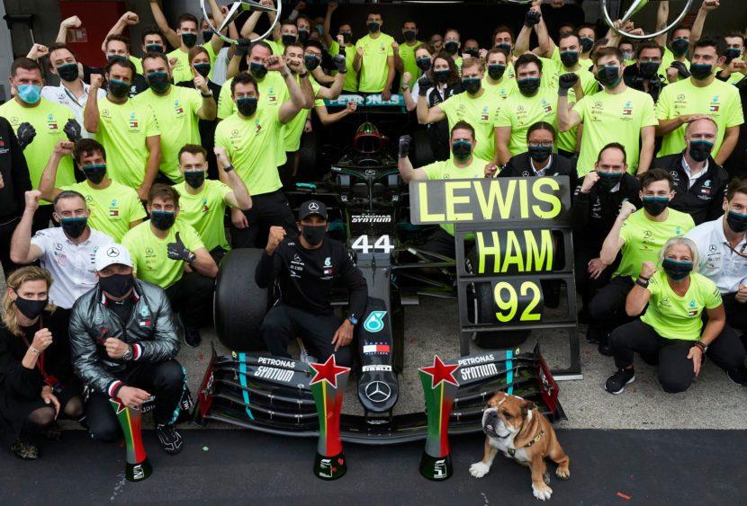 F1, le pagelle di Portimão: Hamilton 92 e lode, Bottas e Albon imbarazzanti