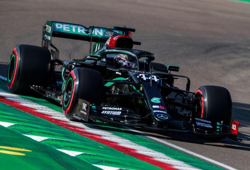 F1, a Imola la Mercedes fa bottino pieno: doppietta e mondiale costruttori