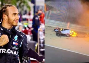 GP Bahrain: Hamilton domina, le RB a podio, Grosjean ringrazia Dallara