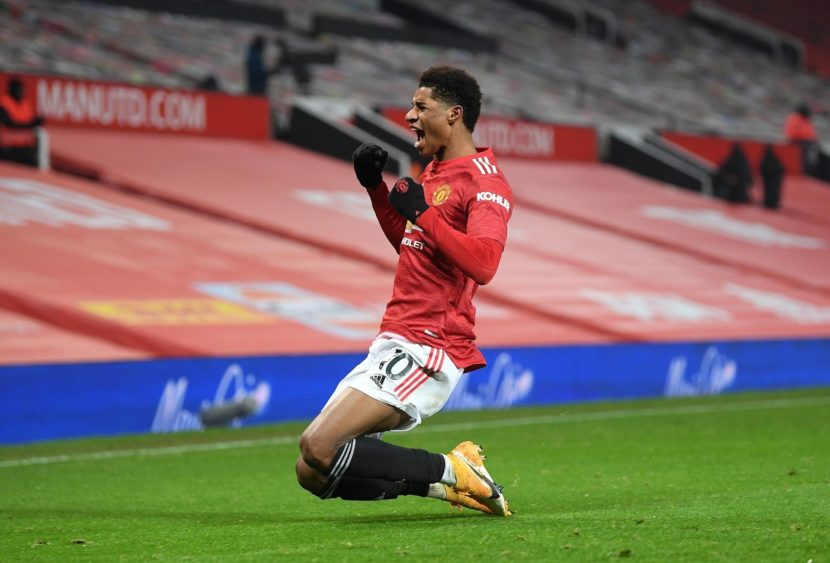 Premier League: Rashford trascina lo United, Leeds scatenato