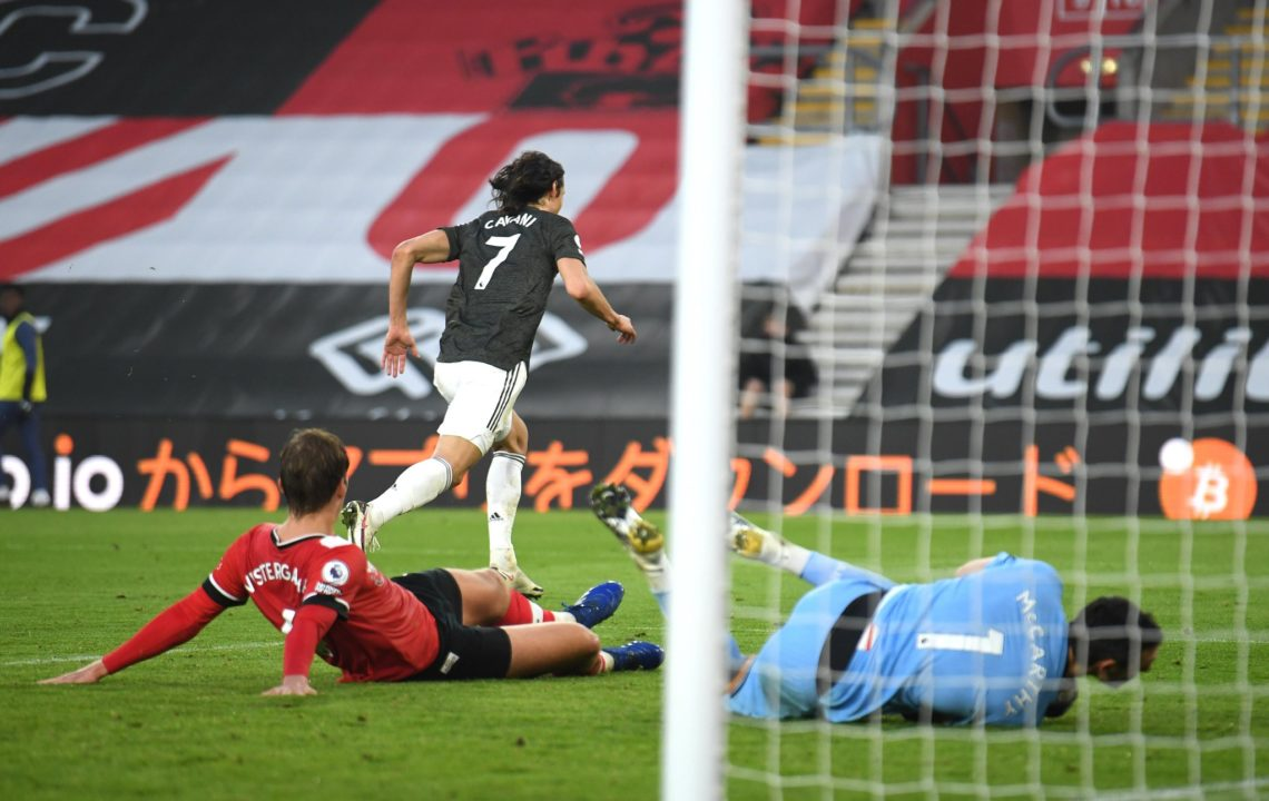 Premier League: Cavani trascina lo United, pari tra Mourinho e Lampard