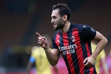 Europa League, Hakan Calhanoglu (Milan)