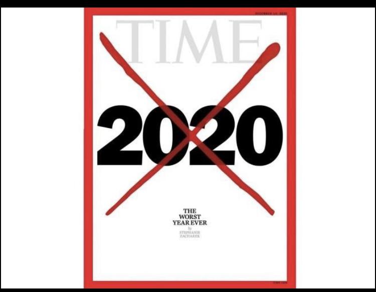 Che anno è stato il 2020? Per il time, noto settimanale USA,«il peggior anno di sempre»