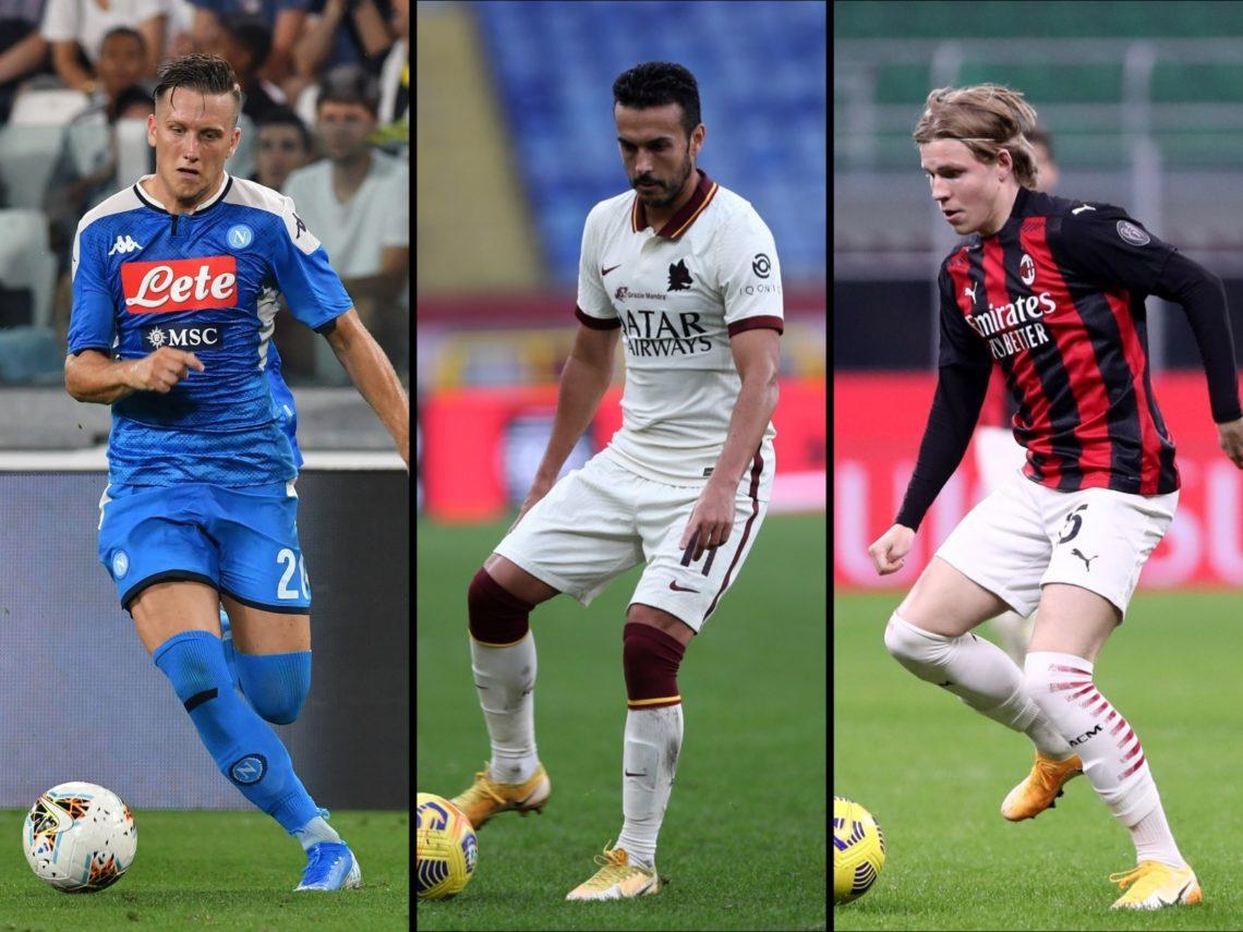 Europa League, primo posto per Napoli e Milan: pari e vittoria, Roma ko