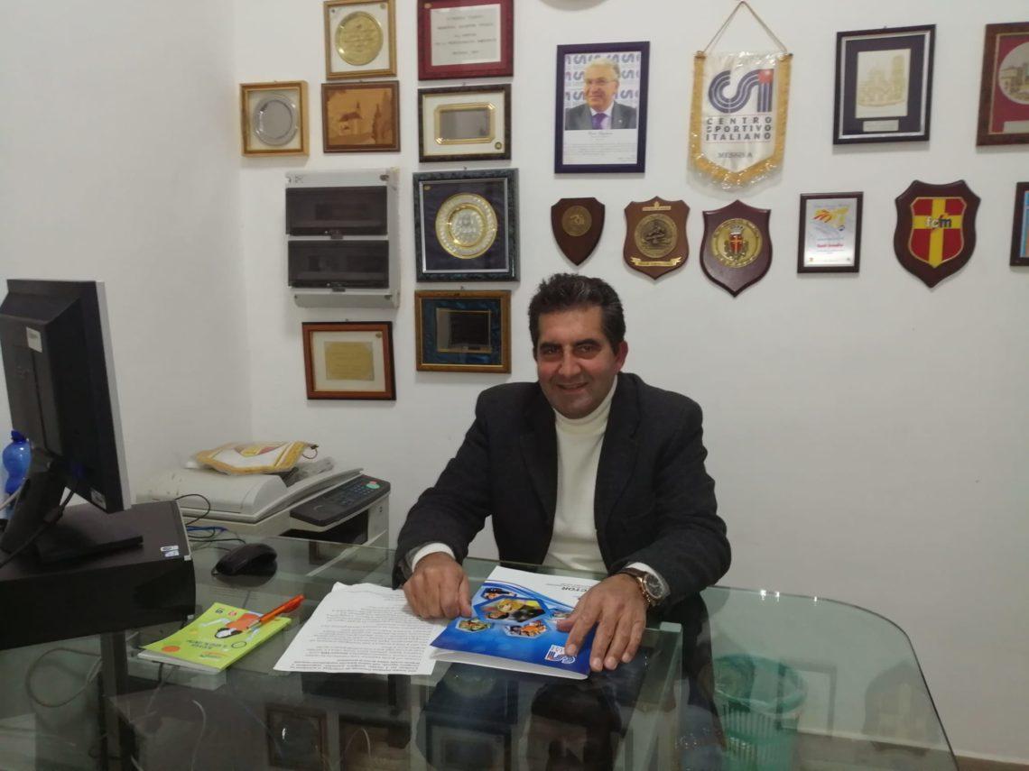 Santi Smedile confermato presidente provinciale del Centro Sportivo Italiano di Messina