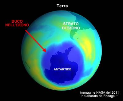 """Il buco dell'Ozono si è chiuso: """"È merito delle condizioni meteo eccezionali"""", lo dice l'OMM"""