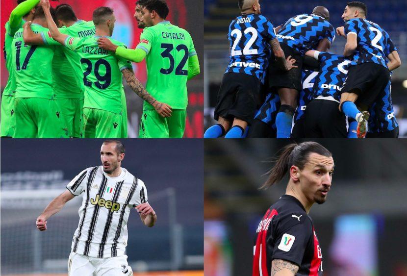 Serie A, top & flop: Lazio e Inter show, Chiellini vitale, Ibra stecca ancora