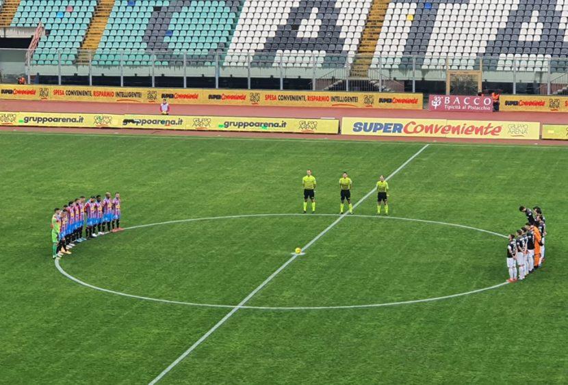 Il Catania vince nel ricordo della presidente Codiglione: 1-0 firmato da Dall'Oglio