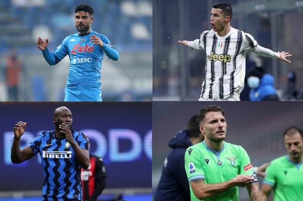 Serie A: la Juve va a caccia di conferme a Napoli, ostacolo Lazio per l'Inter