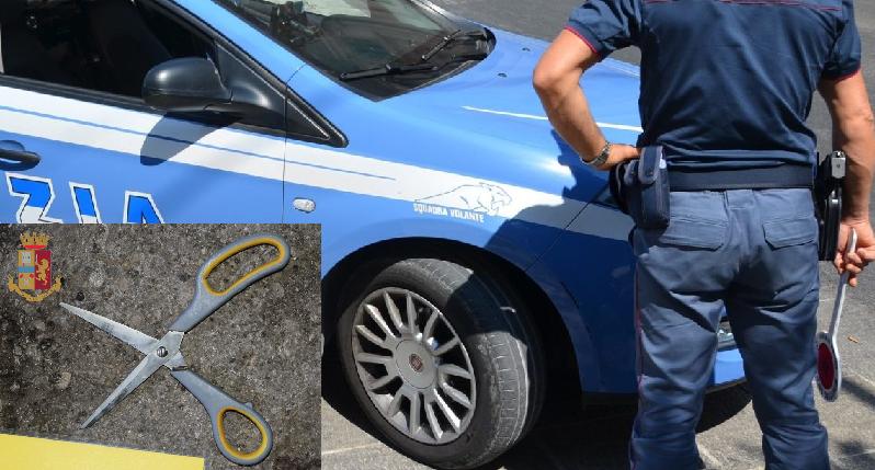 Lecce, rapina pizzeria con delle forbici e poi tenta la fuga: arrestato 41enne