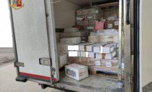 Sequestrati 900 kg di alimenti ritenuti pericolosi per la salute pubblica