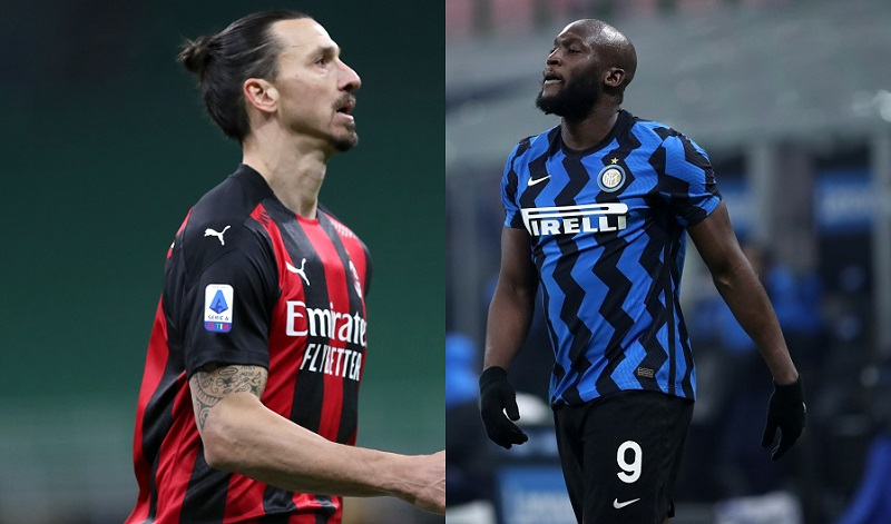 Serie A, Milan contro Inter, Ibra contro Lukaku: un Derby che sa di scudetto