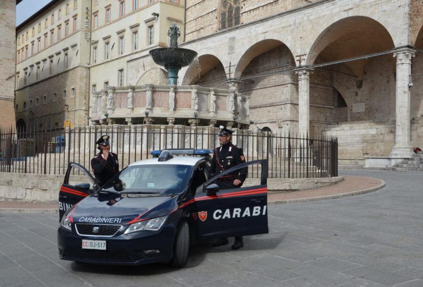 Perugia, carabinieri deferiscono in stato di libertà un cittadino ghanese