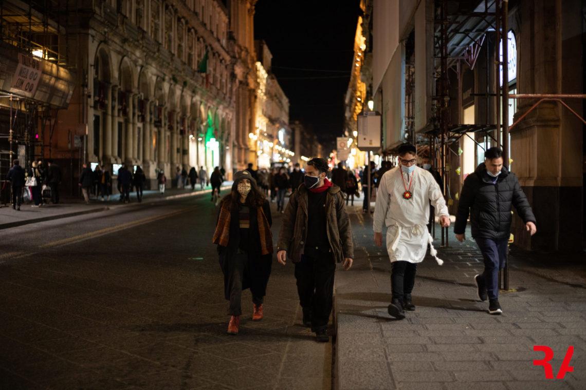 """Sant'Agata 2021, Catania città fantasma: """"a sira do tri"""" con il boato del silenzio – FOTO"""