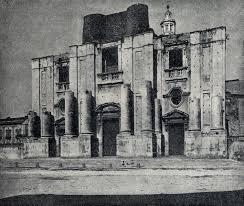 Catania: al via il restauro della scalinata e dei tre portoni della chiesa San Nicolò l'Arena