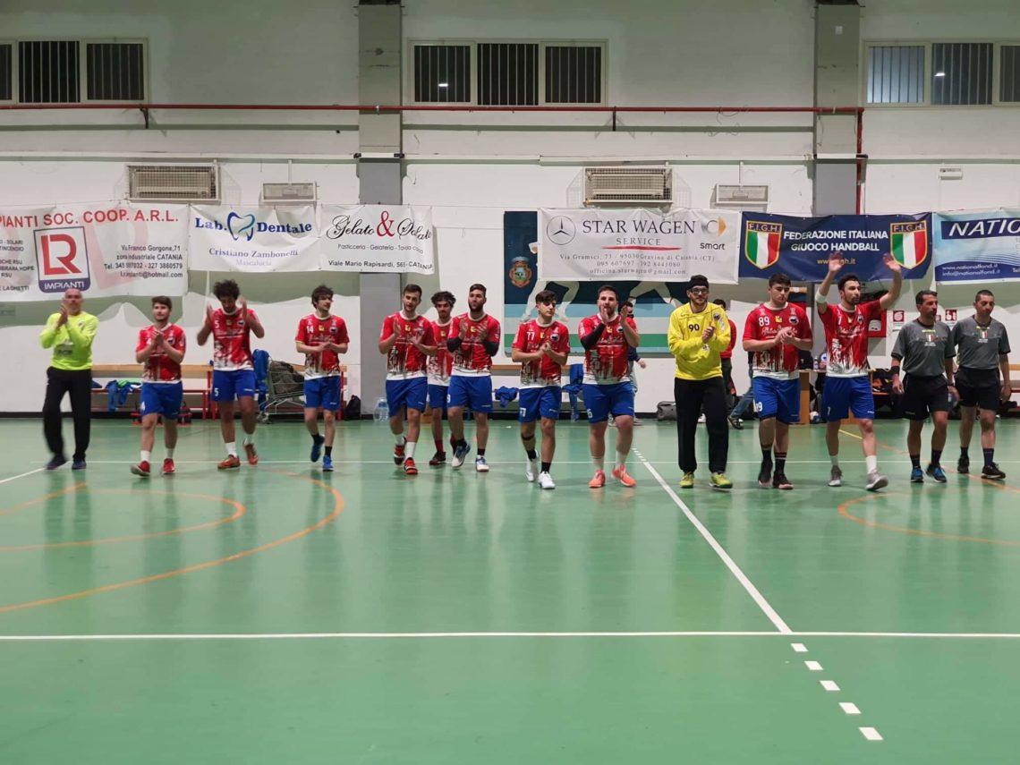 Handball Club Mascalucia, domenica trasferta contro il Giovinetto