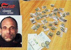 Catania, nasconde la droga nel vano ascensore...arrestato