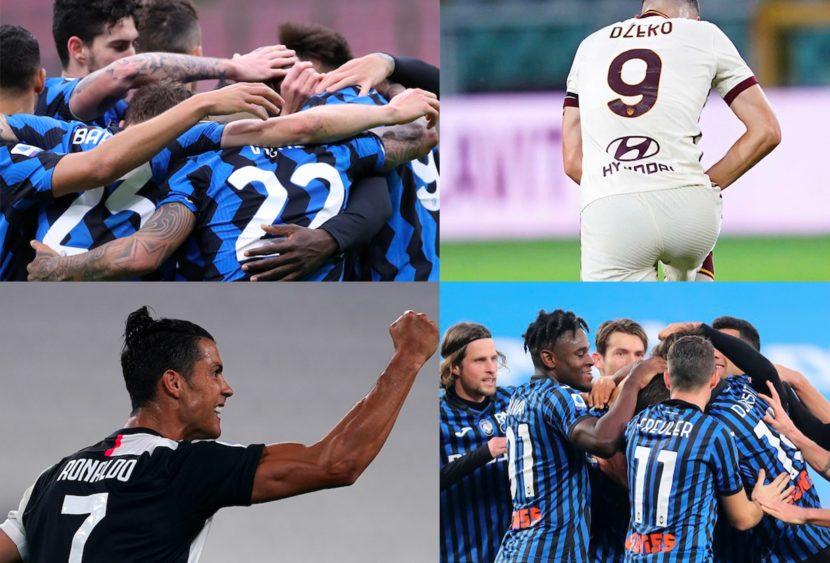 Serie A, top & flop: l'Inter domina Milano, Dea e CR7 show, cade la Roma