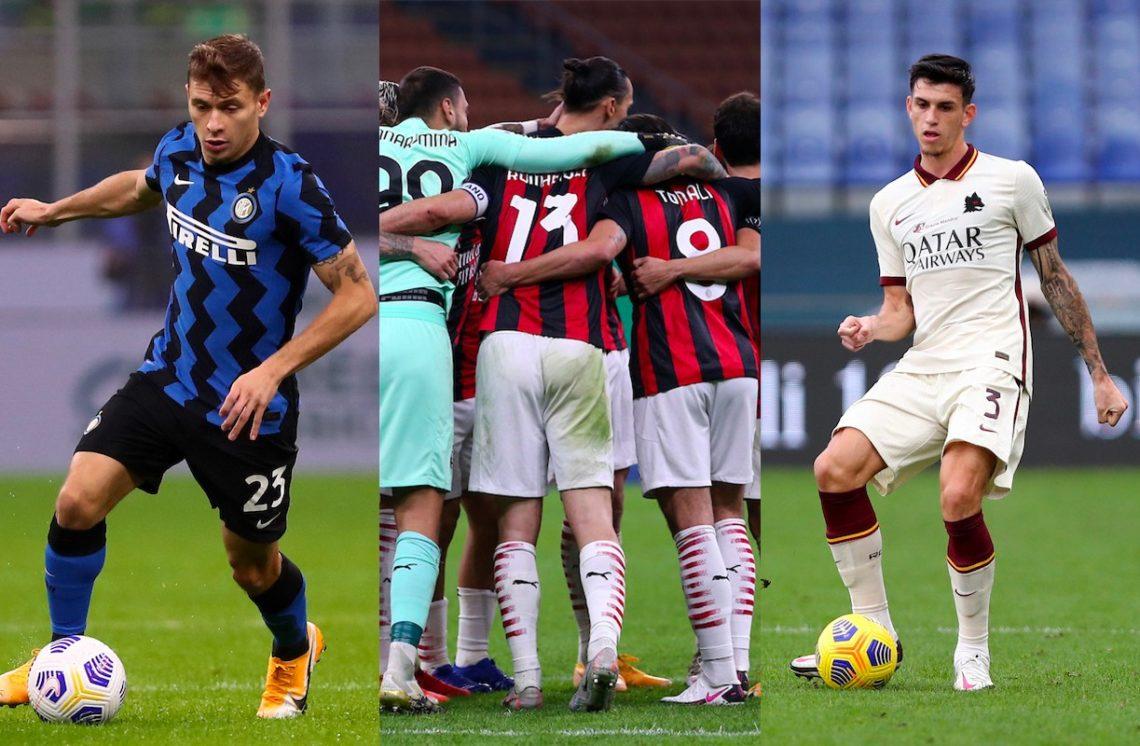 Serie A, top & flop: Barella show, Milan in vetta con un poker, male Ibañez