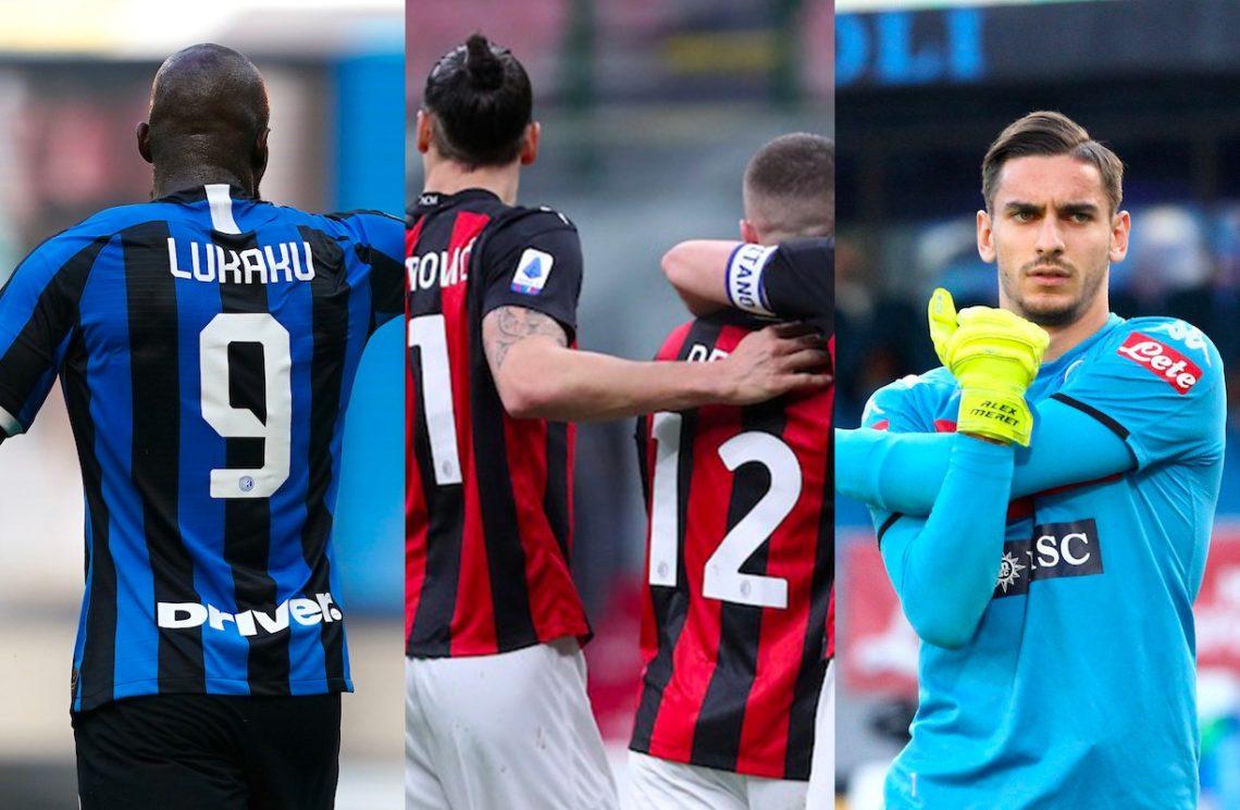Serie A, top & flop: Lukaku bomber, il Milan cede la vetta, Meret frena Pirlo