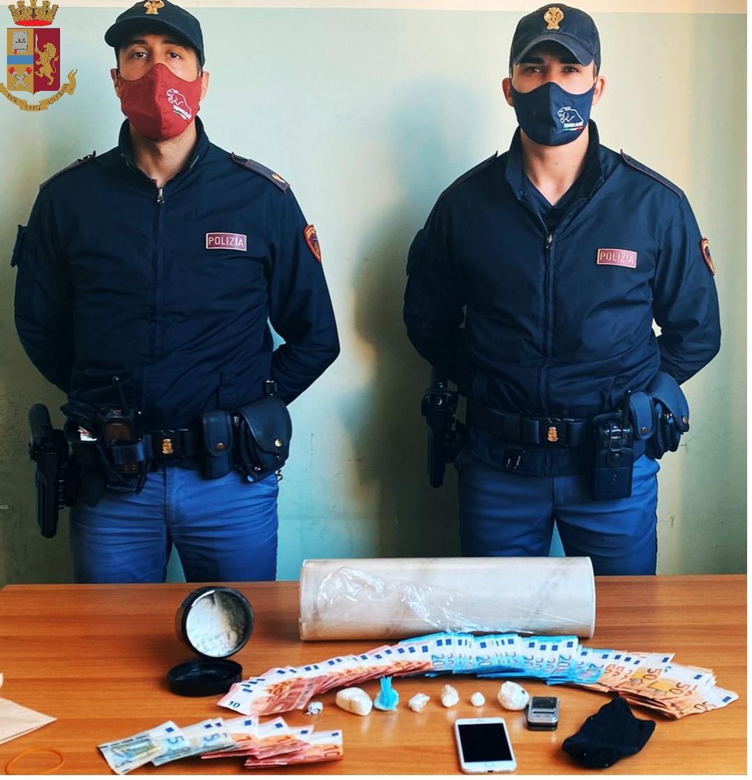 Messina: la Polizia di Stato sequestra cocaina, arrestato un 27enne