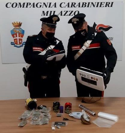 I Carabinieri arrestano una persona per detenzione ai fini di spaccio