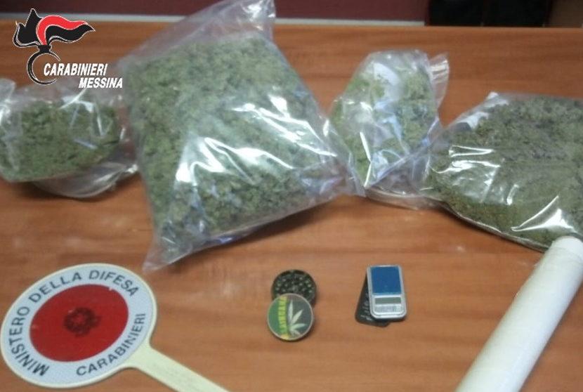 Messina: arrestati due coniugi trovati in possesso di sostanze stupefacenti