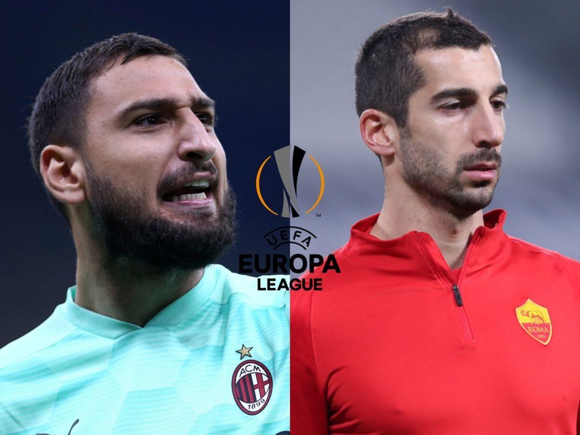 Europa League, sorridono le italiane: pari Milan a Old Trafford, vince la Roma