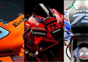 La MotoGP prende colore: presentate le nuove livree per la stagione 2021