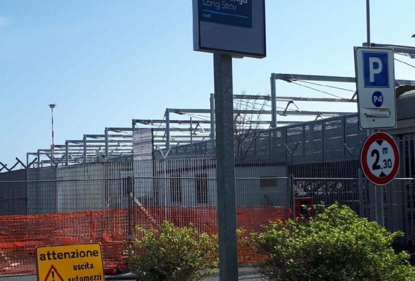 Aeroporto di Catania: chiusura temporanea parcheggio P4 (lunga sosta)