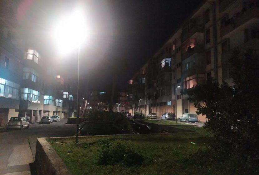 Pubblica illuminazione finalmente funzionante in via Balatelle