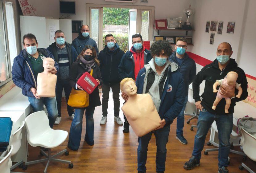 Prevenzione tecnico professionale: Dirigenti e tecnici HC Mascalucia partecipano a un corso BLS di primo soccorso