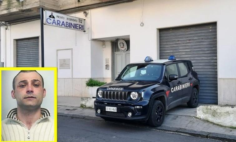 Militello Val di Catania, aveva appena rubato una macchina: beccato e arrestato