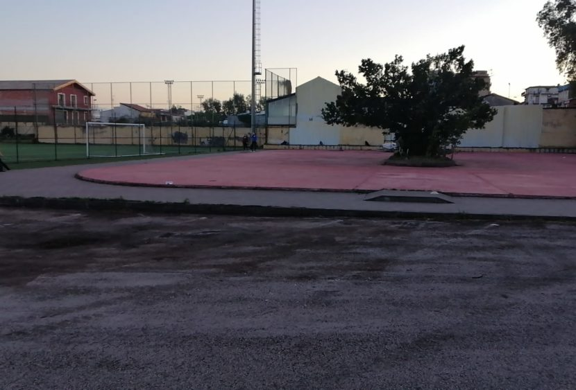 Catania: pulizia al Campo Velletri