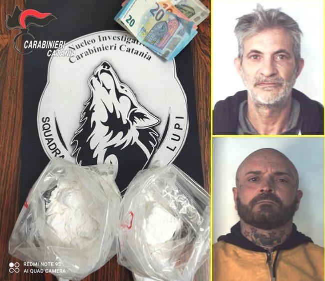 """Catania, presi e arrestati con la """"coca"""" dopo lungo inseguimento"""