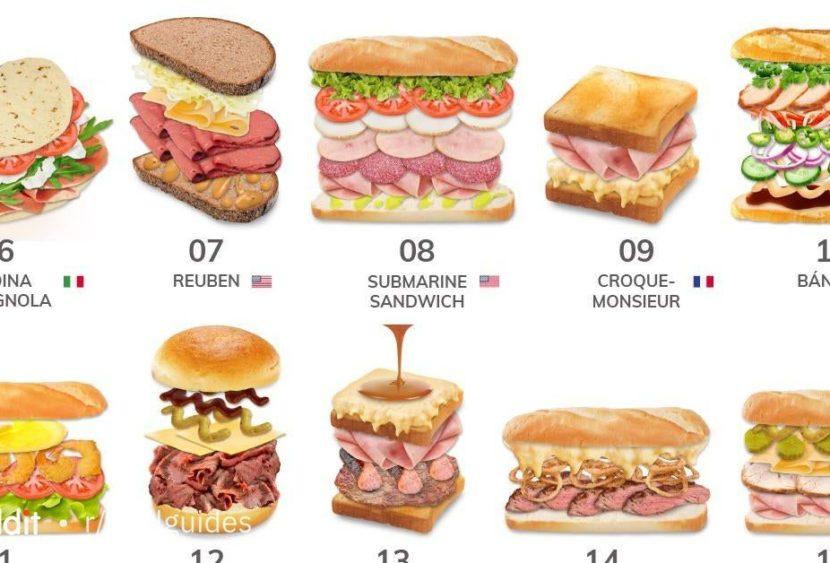 Ricette dal mondo: Quali sono i 10 panini più originali?