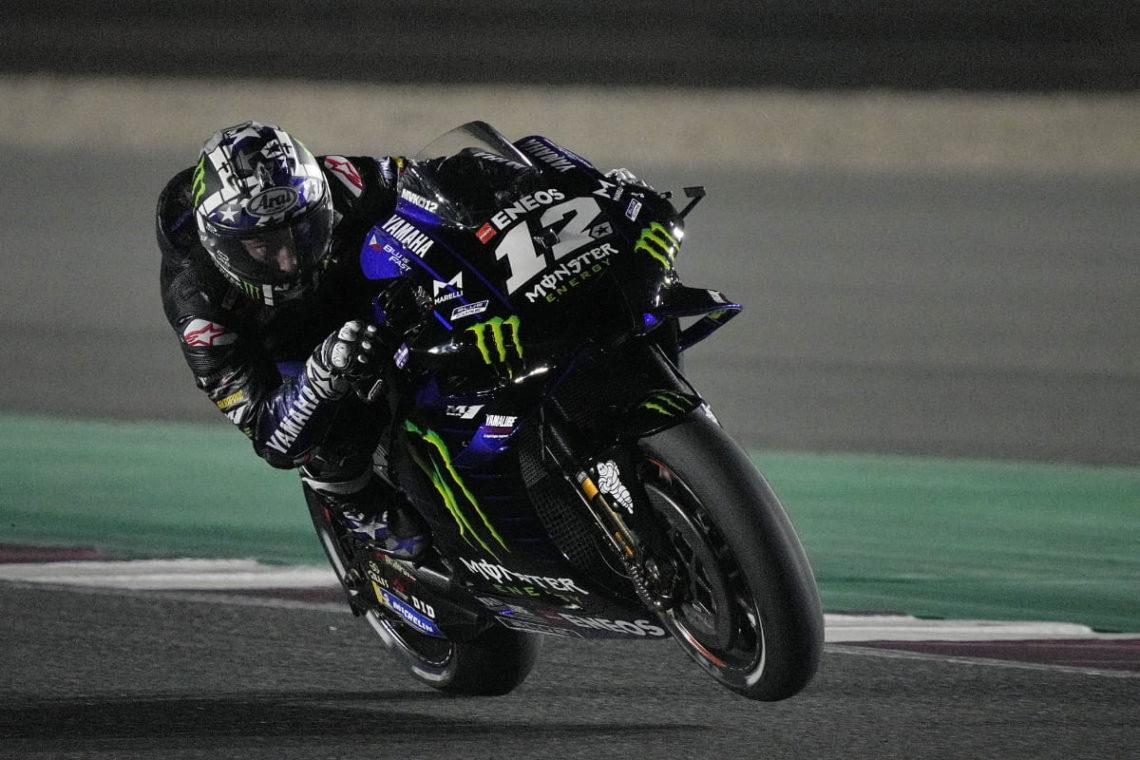 MotoGP 2021, Qatar: che spettacolo Viñales, Ducati insegue