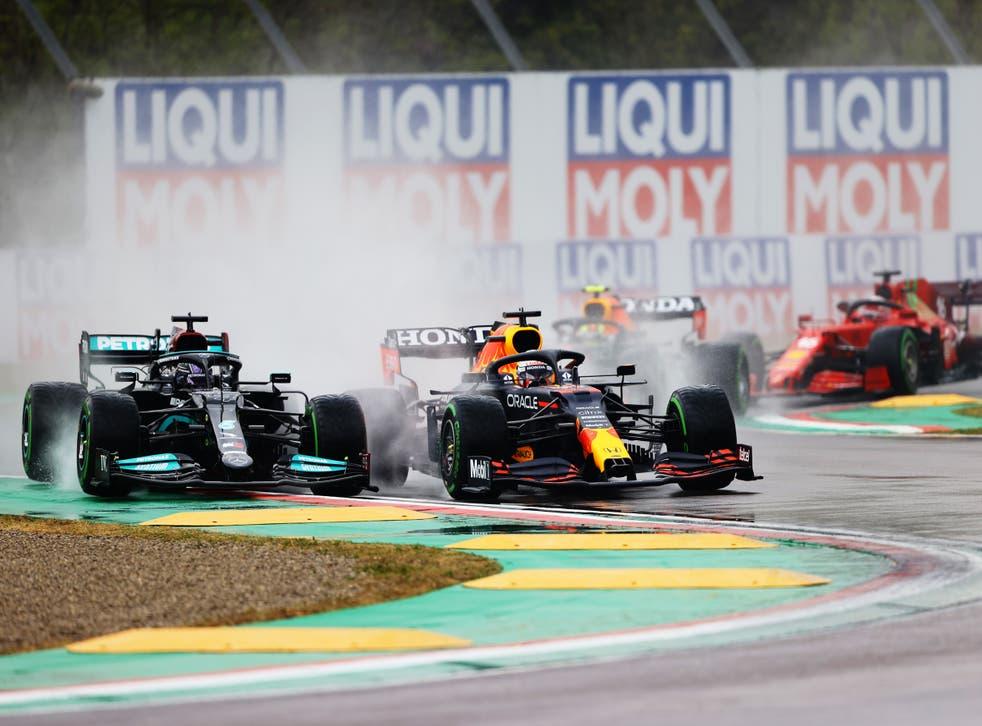 F1: Verstappen vince a Imola una gara pazza, le 2 Ferrari in top 5