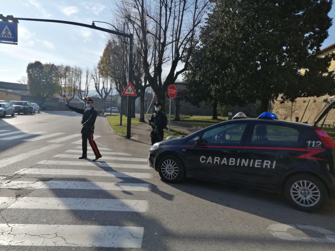 Città di Castello (PG), i Carabinieri segnalano due persone per uso di stupefacenti