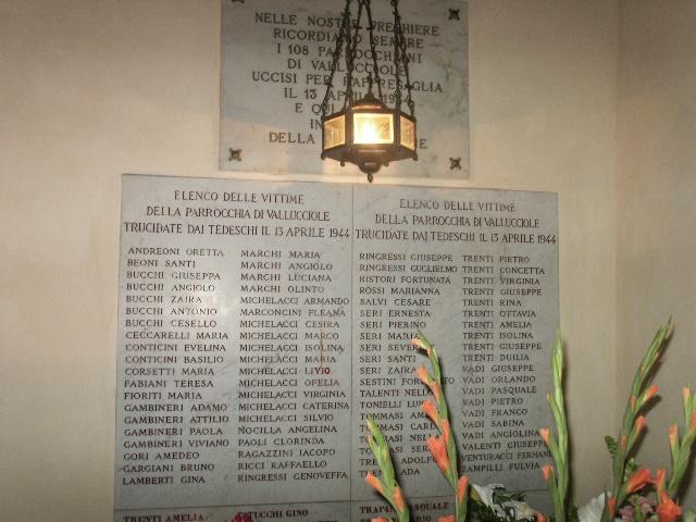 Il CNDDU commemora l'eccidio di Vallucciole avvenuto nel 1944