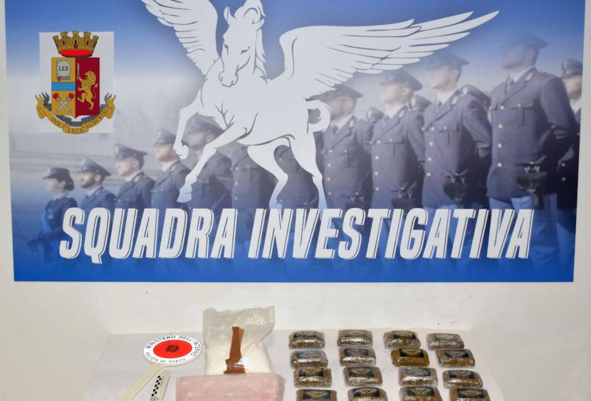 Polizia di Stato: operazione antidroga a Mazara del Vallo (TP)
