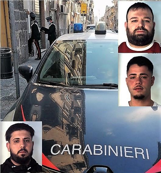 Detenuto catanese gestiva da casa lo spaccio di cocaina con due complici