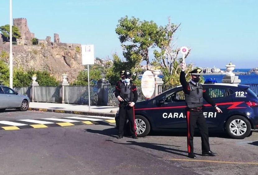 Carabinieri, controlli anticovid in provincia di Catania, diverse sanzioni